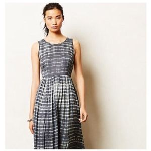 Anthropologie Tie Dye Maxi Dress
